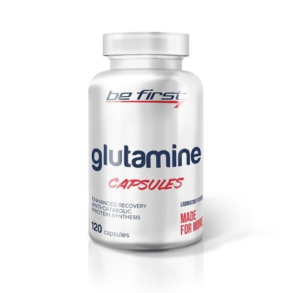 Be First Glutamine Capsules (120капс)