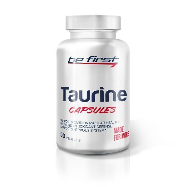 Be First Taurine Capsules (90капс)