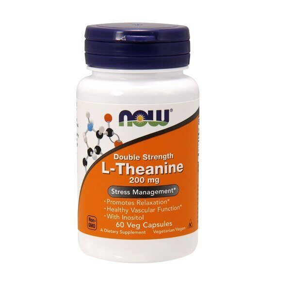 Now L-Theanine 200mg (60капс)