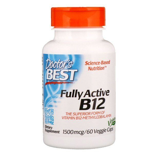 Dr.Best Fully Active B12 (60капс)