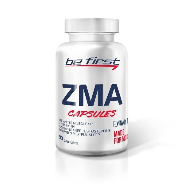 Be First ZMA + D3 (90капс)