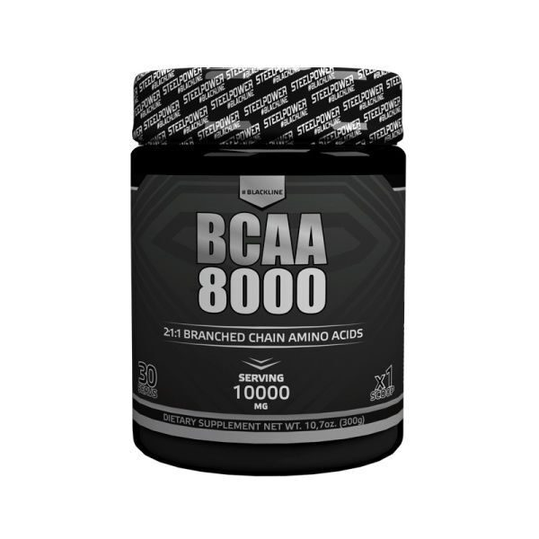 Steel Power BCAA 8000 Black Line (300гр)
