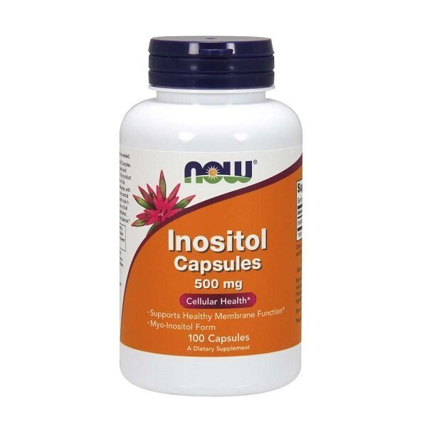 Now Inositol 500mg (100капс)