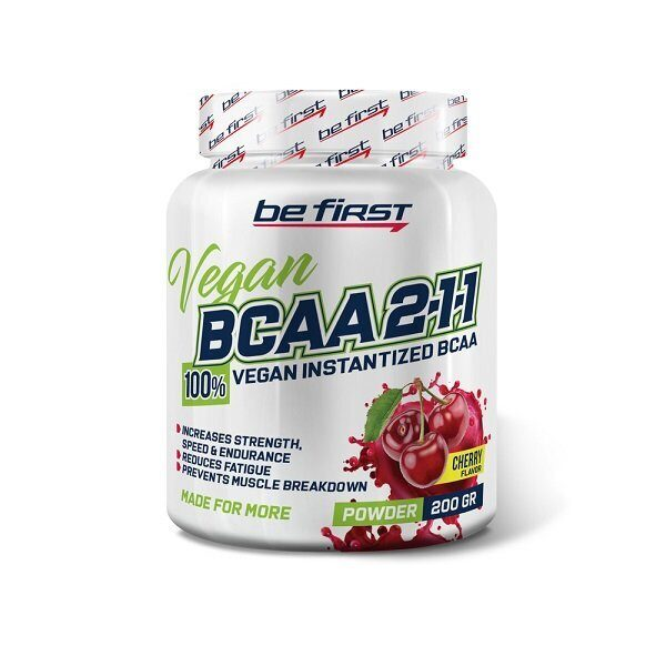 Be First BCAA Vegan Powder (200гр)