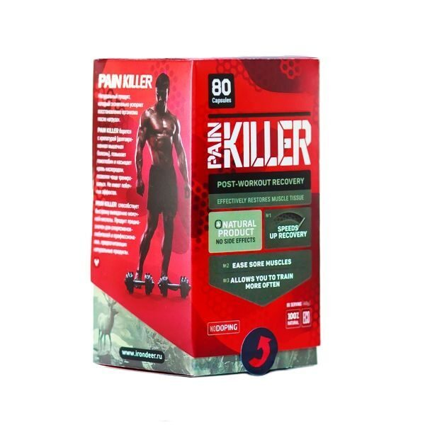 IronDeer PainKiller (80капс)