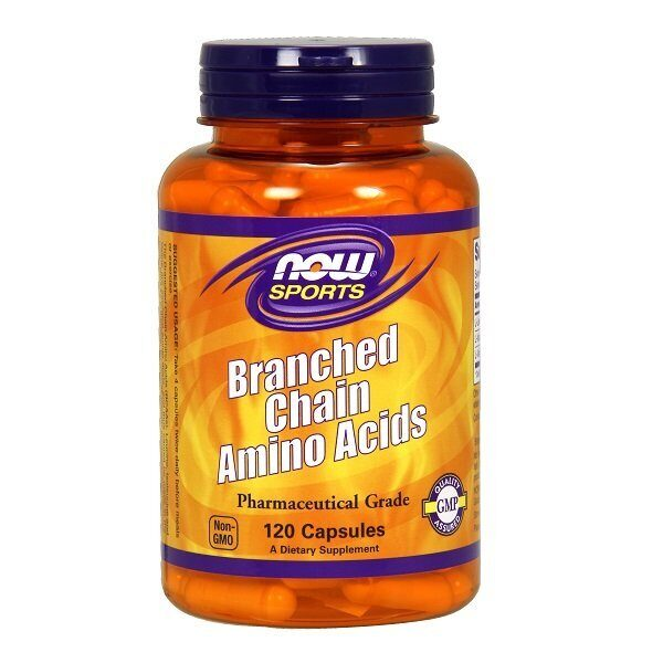 Now Branched Chain Amino Acids (120капс)