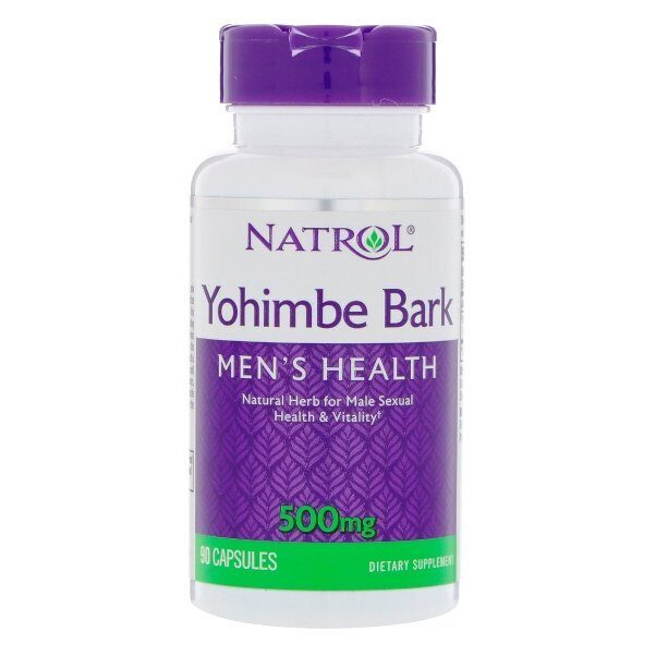 Natrol Yohimbe Bark 500mg (90капс)