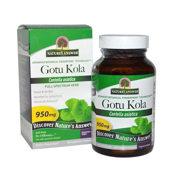 Nature`s Answer Gotu Kola 950mg (90капс)