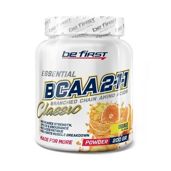 Be First BCAA Classic Powder (200гр)