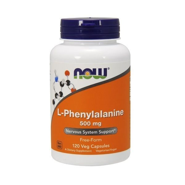 Now L-Phenylalanine 500mg (120капс)