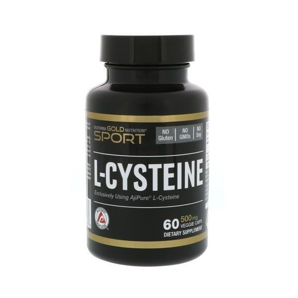 California Gold L-Cysteine 500mg (60капс)
