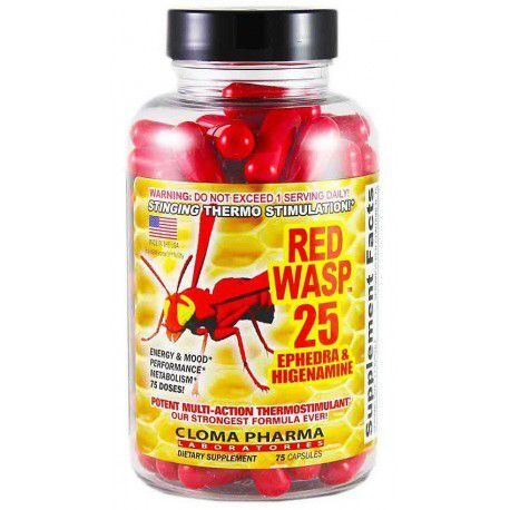 ClomaPharma Red Wasp (75капс)