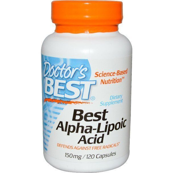 Dr.Best Alpha-Lipoic Acid 150 (120капс)
