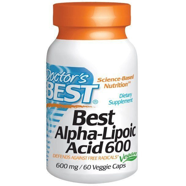 Dr.Best Alpha-Lipoic Acid 600 (60капс)