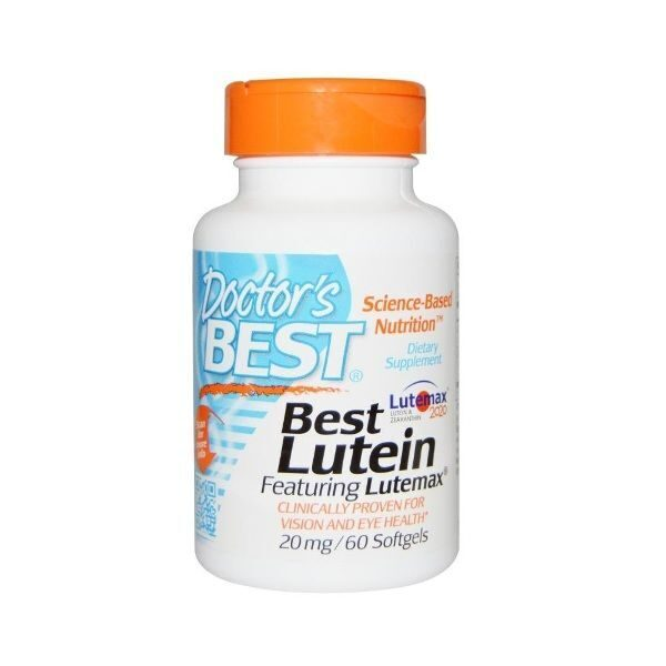 Dr.Best Lutein 20mg (60капс)