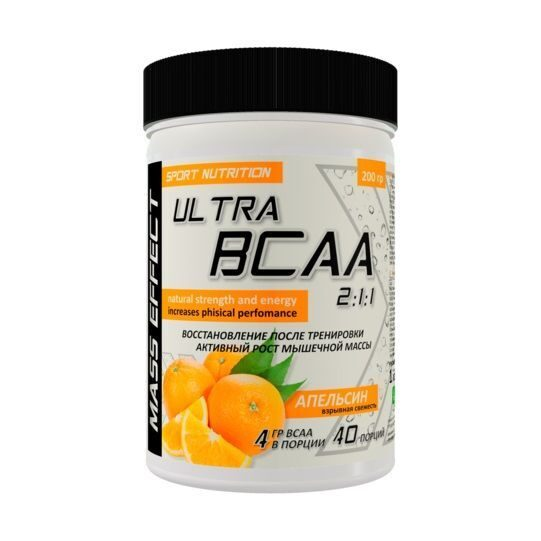 Mass Effect Ultra BCAA 2:1:1 (200гр)