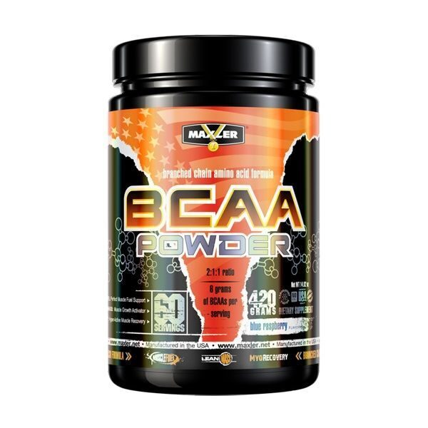 Maxler BCAA Powder (420гр)