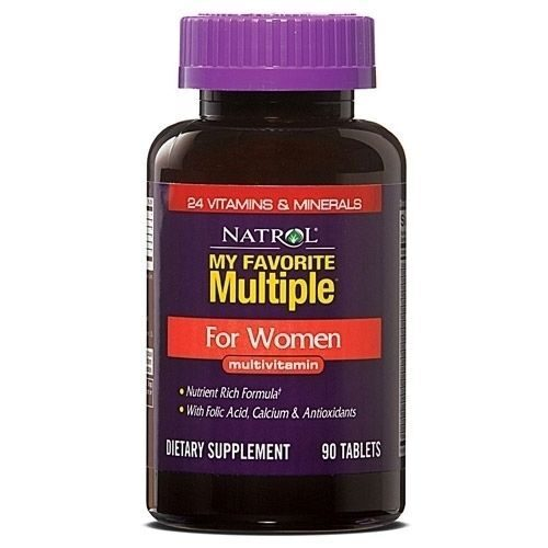 Natrol Multiple for Women (90таб)