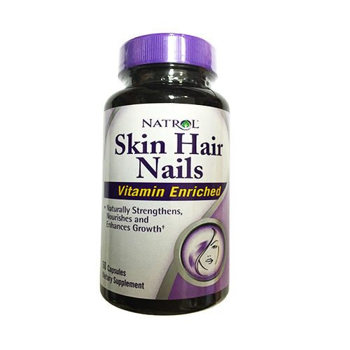 Natrol Skin Hair Nails (60капс)