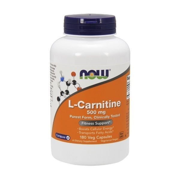 Now L-Carnitine 500mg (180капс)