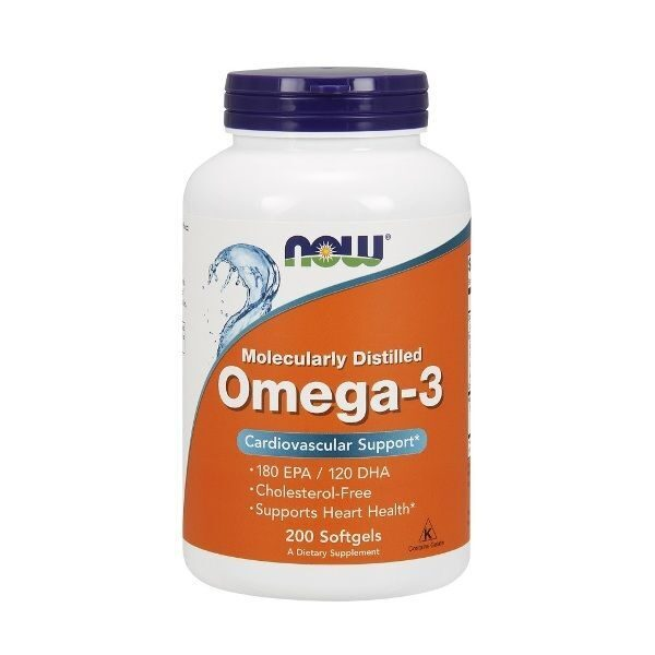 Now Omega-3 (200капс)