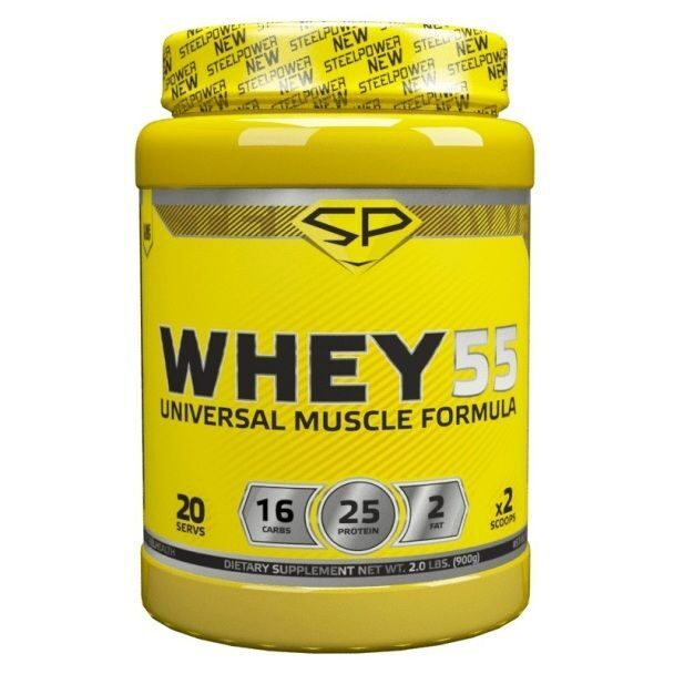 Steel Power Whey 55 (900гр)