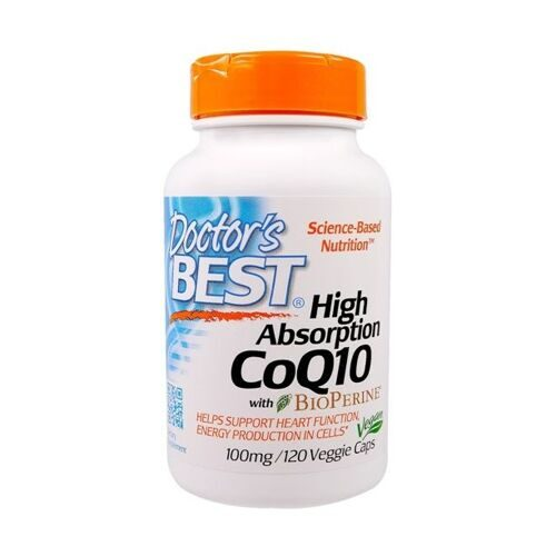 Dr.Best CoQ10 High Absorption 100mg (120капс)