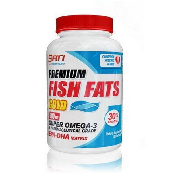 SAN Fish Fats Gold (120капс)