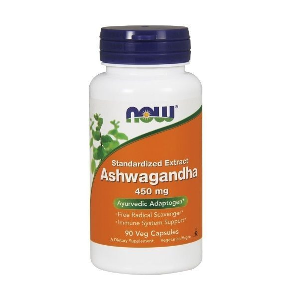 Now Ashwagandha 450mg (90капс)
