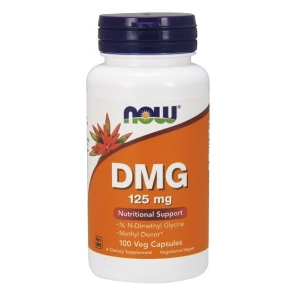 Now DMG 125 mg (100капс)