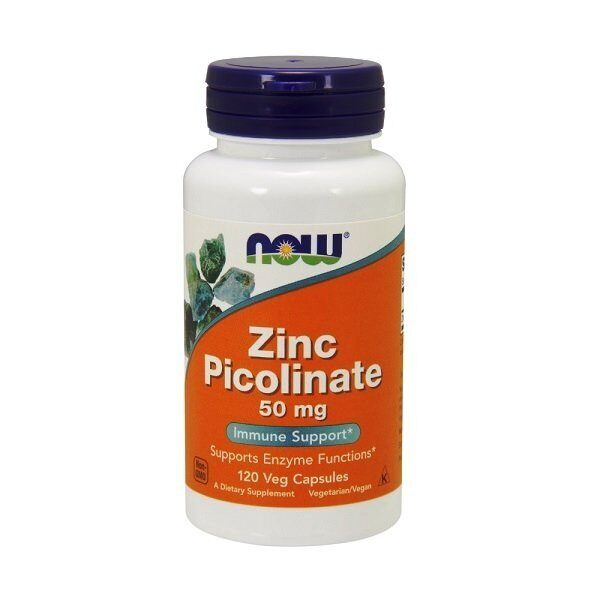 Now Zinc Picolinate 50mg (120капс)