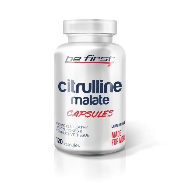 Be First Citruline Malate (120капс)