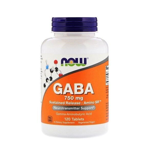 Now GABA 750mg (120таб)