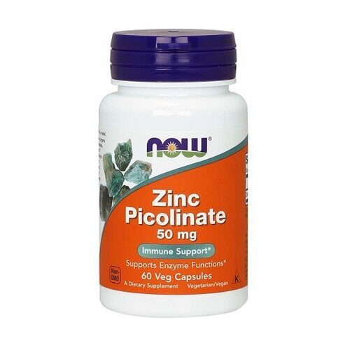 Now Zinc Picolinate 50mg (60капс)