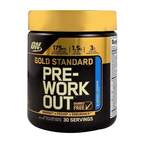Optimum Gold Standard Pre-Workout (300гр)