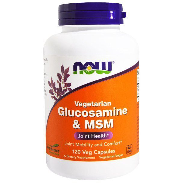 Now Glucosamine & MSM (120капс)