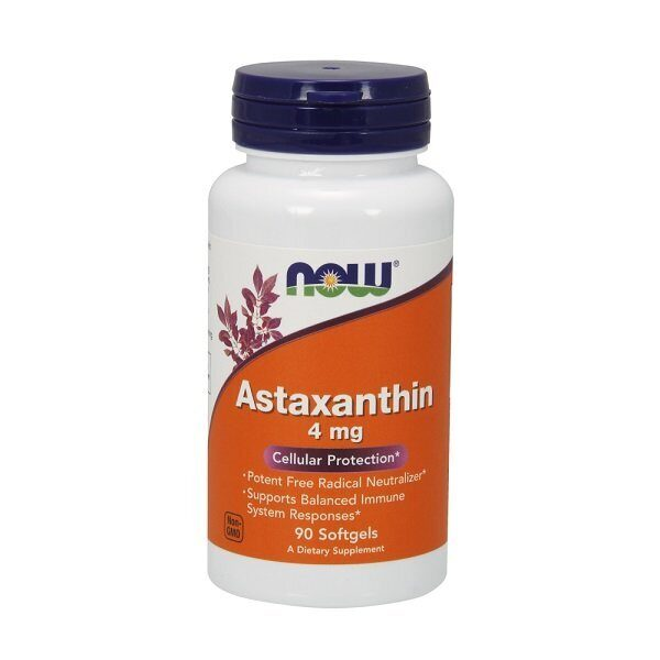 Now Astaxanthin 4mg (90капс)
