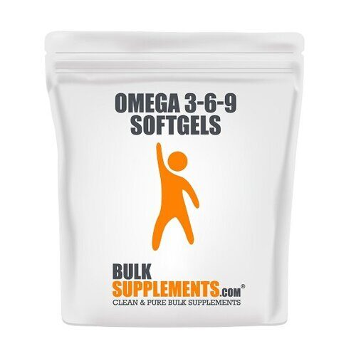 Bulk Supplements Omega 3-6-9 (300капс)