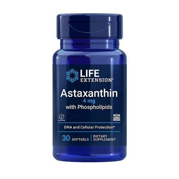 Life Extension Astaxanthin 4mg (30капс)