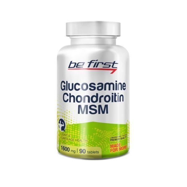 Be First Glucosamin Chondroitin MSM (90таб)