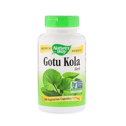 Nature`s Way Gotu Kola 475mg (180капс)