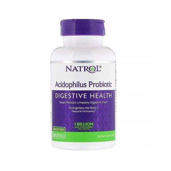 Natrol Acidophilus 100mg (150капс)