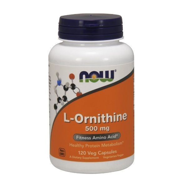 Now L-Ornithine 500 mg (120капс)