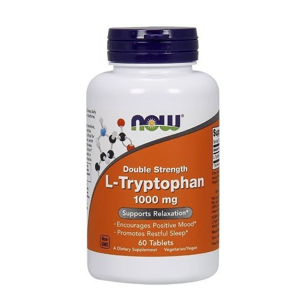 Now L-Tryptophan 1000mg (60таб)