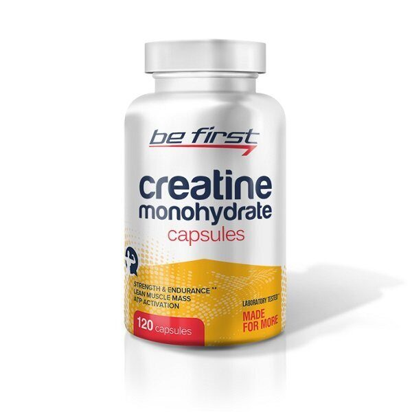 Be First Creatine Monohydrate Capsules (120капс)