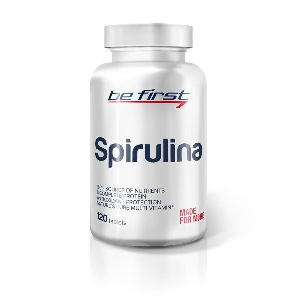 Be First Spirulina (120таб)