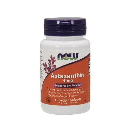 Now Astaxanthin 4mg (60капс)