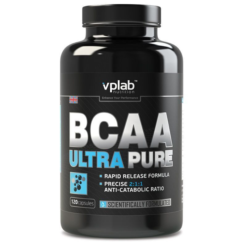 VP Lab Ultra Pure BCAA (120капс)