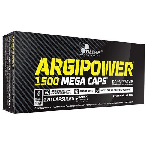 Olimp Argi-Power 1500 MegaCaps (120капс)