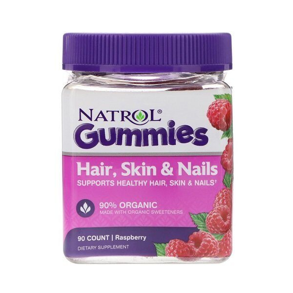 Natrol Gummies Skin Hair Nails (90таб)